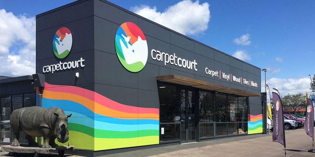 Carpet Court's New Look