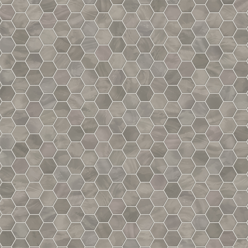 Cortile Grey Hexagon