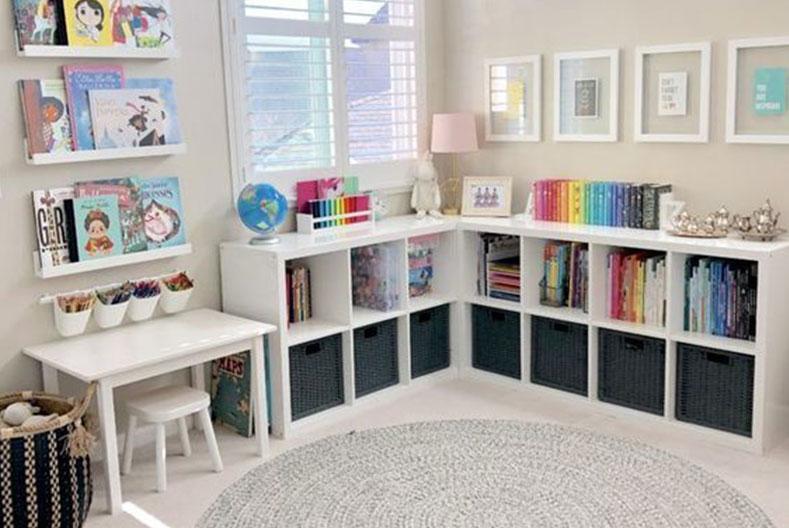 Kids Bedroom Ideas - Get creative with storage