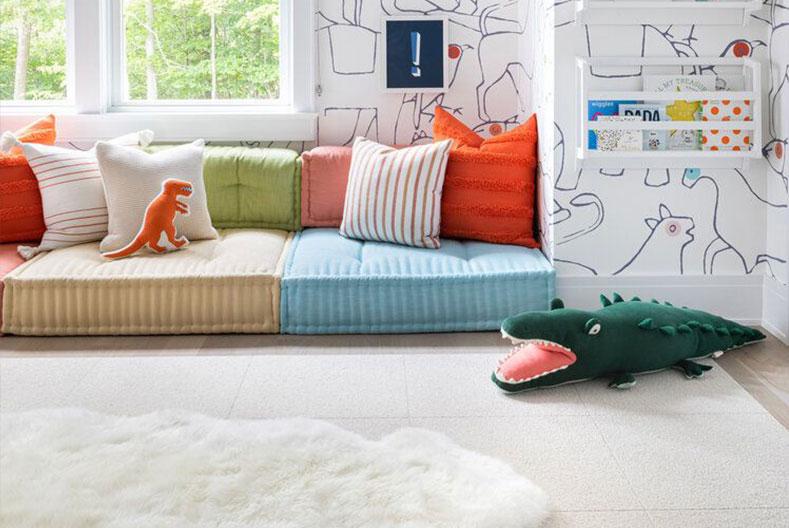 Kids Bedroom Ideas - Leave room to play
