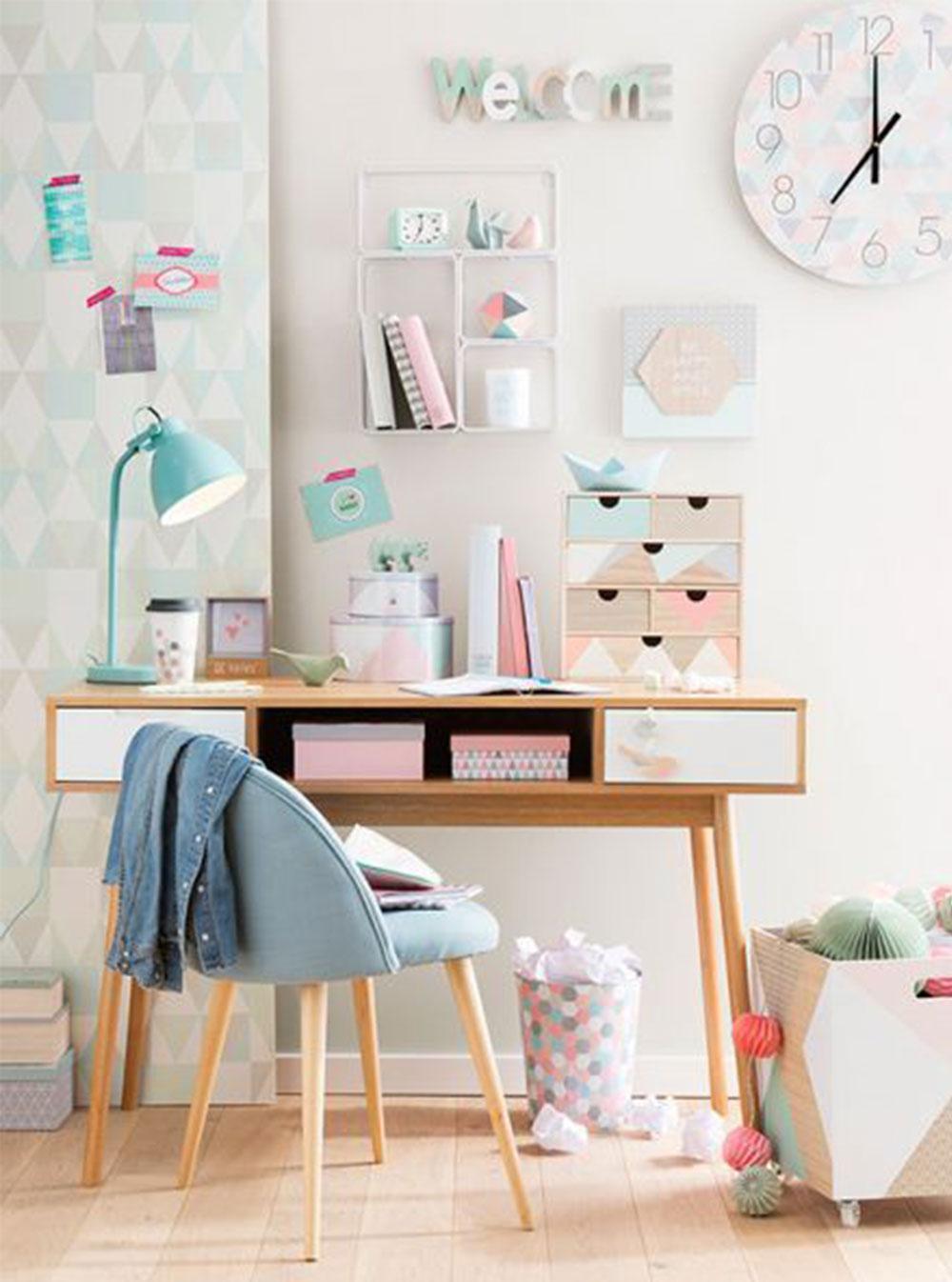 Kids Bedroom Ideas - Make homework fun