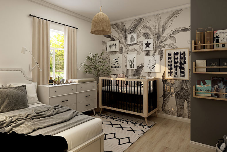 Kids Bedroom Ideas - Nurture with nature